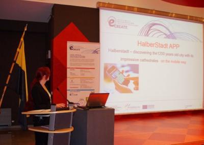 Halberstadt-App in Brüssel vorgestellt