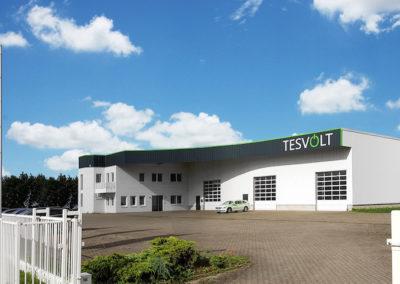 Der Standort der TESVOLT GmbH
