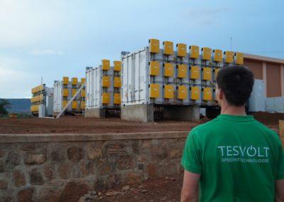 TESVOLT im afrikanischen Ruanda