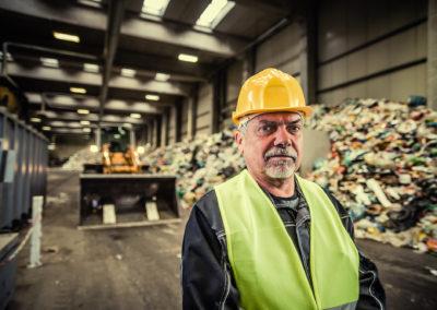 Verwerten von Abfällen und Sekundärrohstoffen