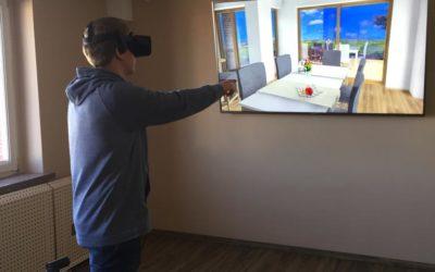 Erleben Sie Ihr Traumhaus live durch die Virtual-Reality-Brille